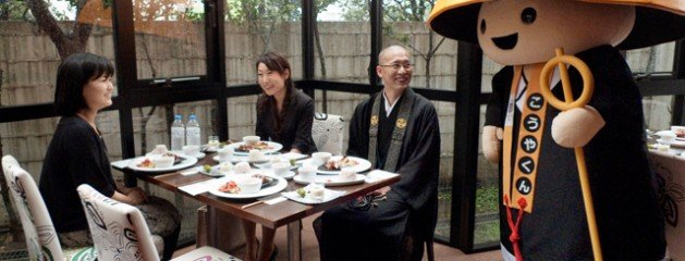 Things to do: Have your dinner blessed by a Koyasan monk