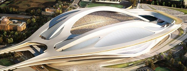 Tokyo won the 2020 olympic bid, design for the new stadium revealed