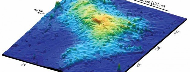 Earth's largest volcano found in Pacific Ocean east of Japan