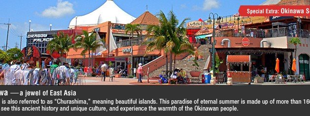 Okinawa – a Shoppers' Paradise